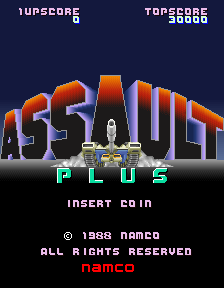 Assault Plus (ARC)   © Namco 1988    1/4