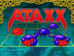 Ataxx (ARC)  © Leland 1990   1/3