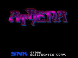 Athena (ARC)  © SNK 1986   1/4