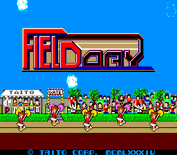 The Athlete (ARC)  © Taito 1984   1/4