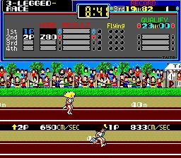 The Athlete (ARC)  © Taito 1984   3/4