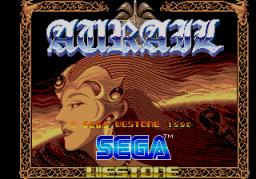 Aurail (ARC)  © Sega 1990   1/4