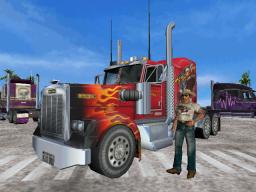 18 Wheeler: American Pro Trucker (ARC)  © Sega 2000   1/3