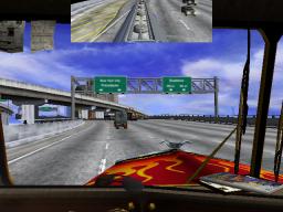 18 Wheeler: American Pro Trucker (ARC)  © Sega 2000   2/3