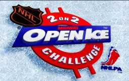 NHL Open Ice: 2 On 2 Challenge (ARC)  © Midway 1995   1/6