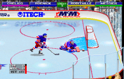 NHL Open Ice: 2 On 2 Challenge (ARC)  © Midway 1995   2/6