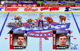 NHL Open Ice: 2 On 2 Challenge (ARC)  © Midway 1995   3/6