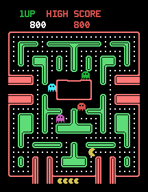Baby Pac-Man (ARC)  © Bally Midway 1982   1/1