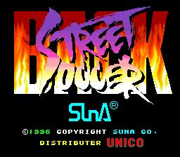 Back Street Soccer (ARC)  © SunA 1996   1/5