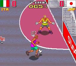 Back Street Soccer (ARC)  © SunA 1996   2/5