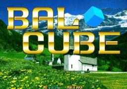 Bal Cube (ARC)  © Metro3D 1996   1/3