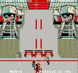 Battle Lane Vol. 5 (ARC)  © Taito 1986   2/7