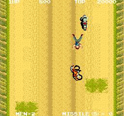 Battle Lane Vol. 5 (ARC)  © Taito 1986   6/7