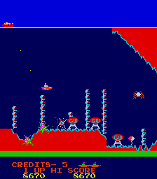 Battle Of Atlantis (ARC)  © Karateco 1981   2/3