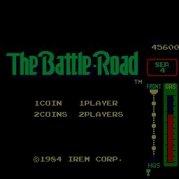 The Battle-Road (ARC)  © Irem 1984   1/3