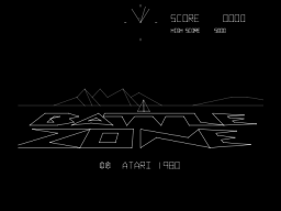 Battlezone (ARC)   © Atari (1972) 1980    1/3