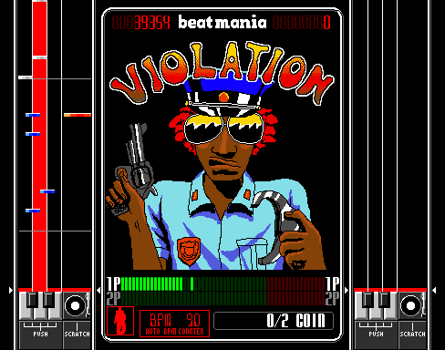 Beatmania (ARC)  © Konami 1997   4/5