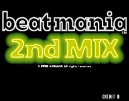 Beatmania 2nd Mix (ARC)  © Konami 1998   1/3