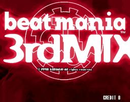 Beatmania 3rd Mix (ARC)  © Konami 1999   1/3