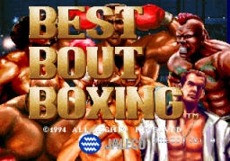 Best Bout Boxing (ARC)   © Jaleco 1994    1/4