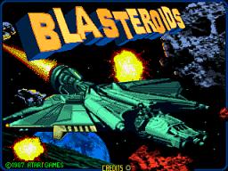 Blasteroids (ARC)  © Atari Games 1987   1/4