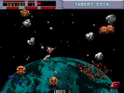 Blasteroids (ARC)  © Atari Games 1987   3/4