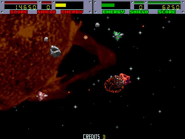Blasteroids (ARC)  © Atari Games 1987   4/4
