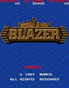 Blazer (ARC)  © Namco 1987   1/5