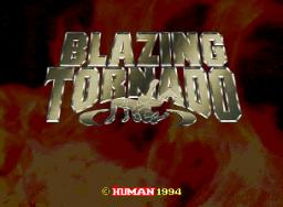 Blazing Tornado (ARC)  © Human 1994   1/7