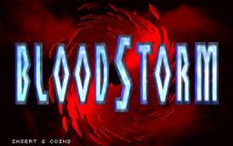 BloodStorm (ARC)  © Strata 1994   1/7