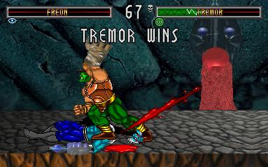 BloodStorm (ARC)  © Strata 1994   5/7