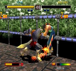 Bloody Roar 2 (ARC)  © Hudson 1998   2/4