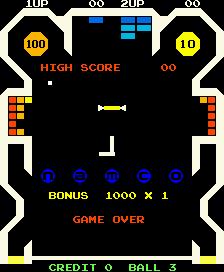 Bomb Bee (ARC)  © Namco 1979   1/2