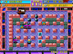 Bomberman World (ARC)  © Irem 1992   1/4