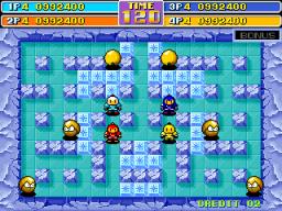 Bomberman World (ARC)  © Irem 1992   2/4