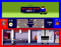 Bonanza Bros. (ARC)  © Sega 1990   2/3