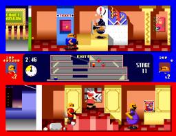 Bonanza Bros. (ARC)  © Sega 1990   3/3