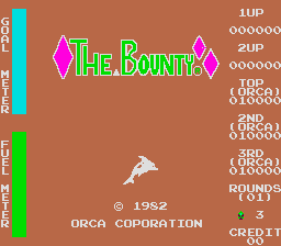 The Bounty (ARC)  © Orca 1982   1/3