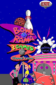 Bowl-O-Rama (ARC)  ©  1991   1/3