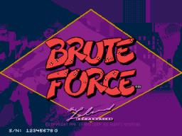 Brute Force (ARC)  © Leland 1991   1/3