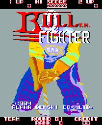 Bull Fighter (ARC)  © ADK 1984   1/3
