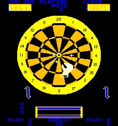 Bulls Eye Darts (ARC)  ©  1980   2/3
