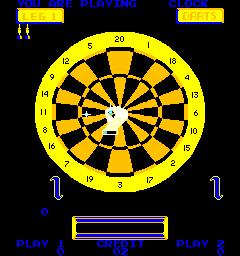 Bulls Eye Darts (ARC)  ©  1980   3/3