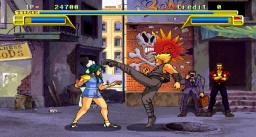 Burning Rival (ARC)  © Sega 1992   2/4