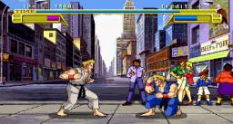 Burning Rival (ARC)  © Sega 1992   3/4