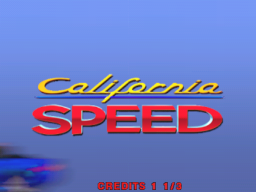 California Speed (ARC)   © Atari Games 1998    1/4