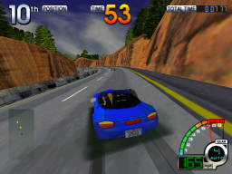 California Speed (ARC)   © Atari Games 1998    2/4