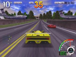 California Speed (ARC)   © Atari Games 1998    3/4