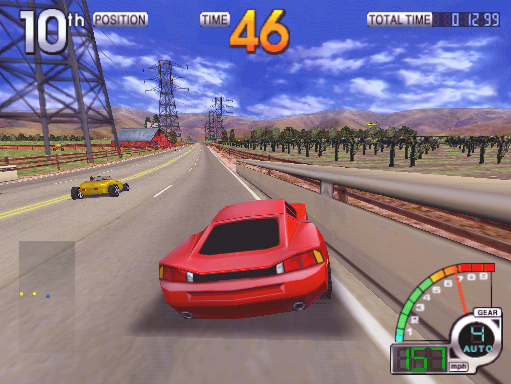 California Speed (ARC)   © Atari Games 1998    4/4