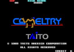 Cameltry (ARC)  © Taito 1989   1/4